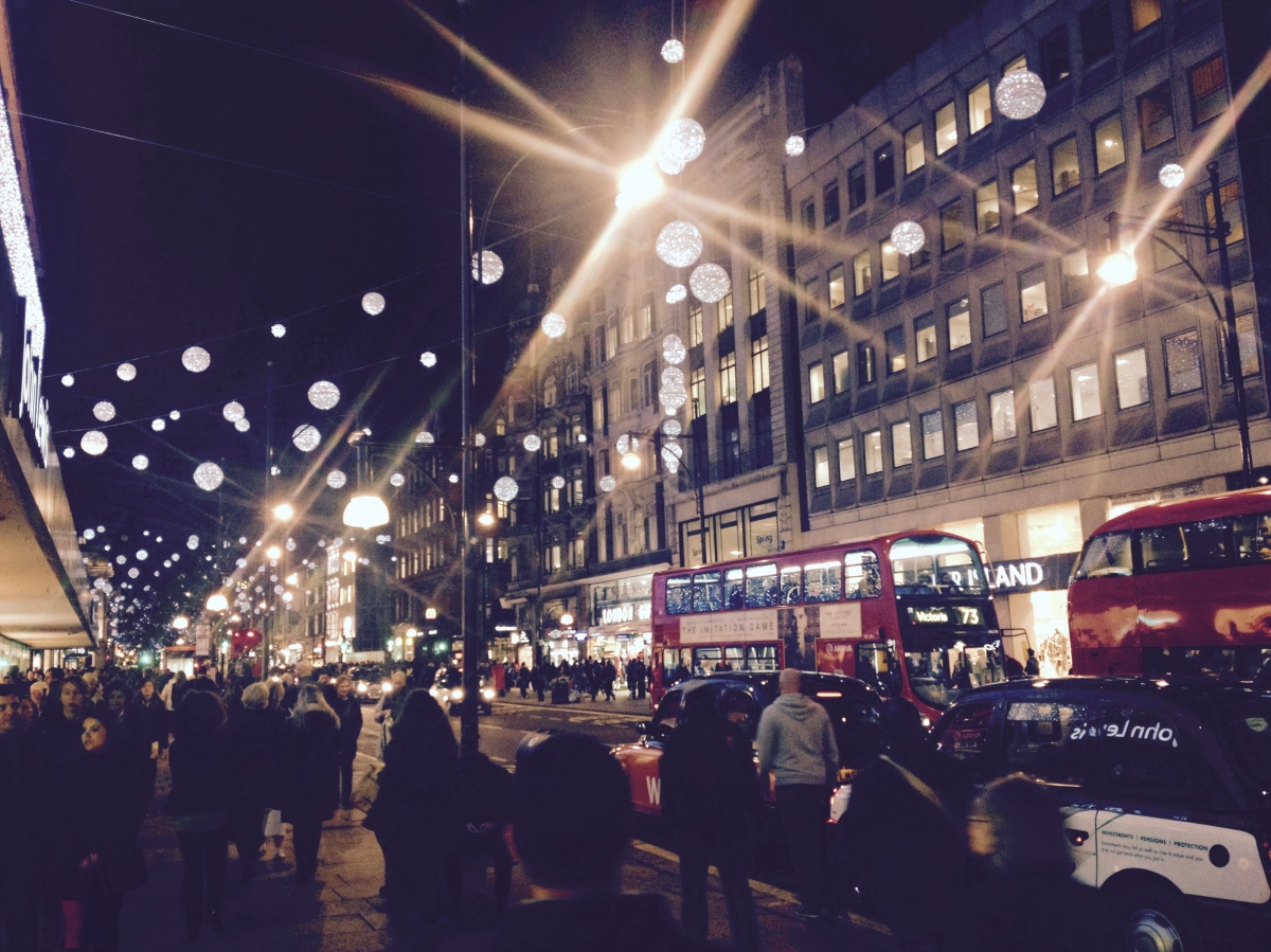 Lost In Oxford Street