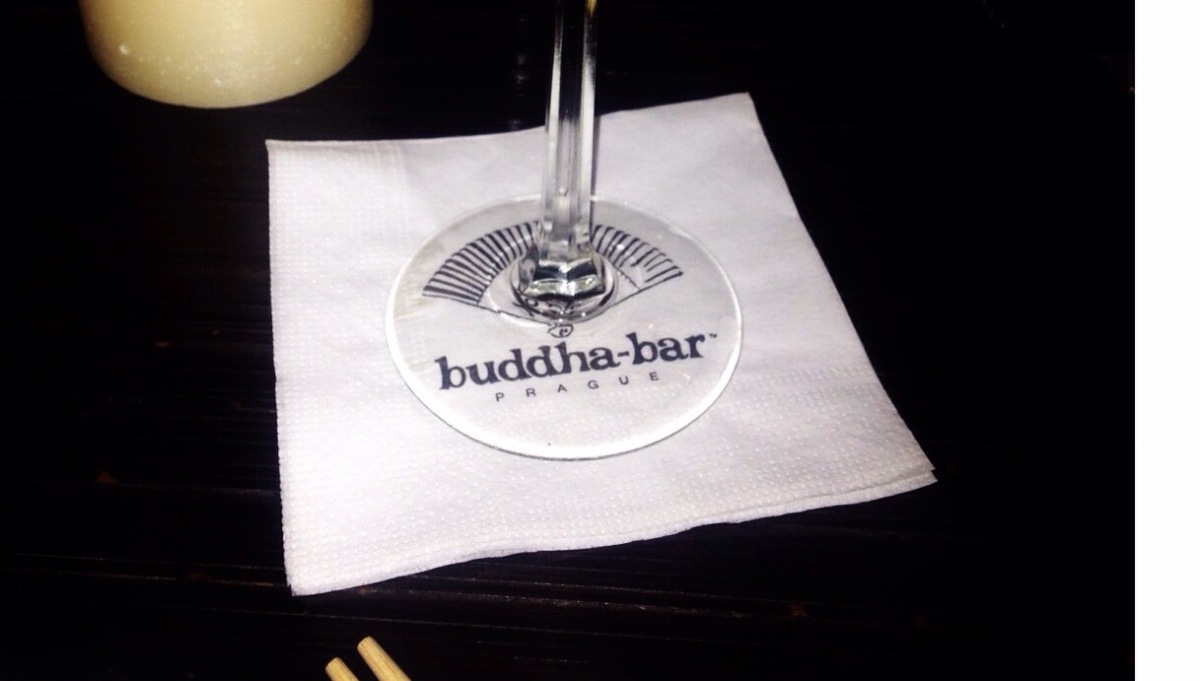 Anyone For Thai Paid for In Czech Korunas – Buddha Bar, Prague